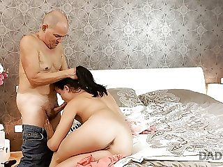 DADDY4K. Remarkable Dolly Diore demonstrates sexy lingerie