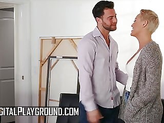 Curvy milf Ryan Keely gets drilled by a hard cock
