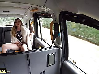 Fake Taxi Filthy Posh babe Honour May gets pussy pounded