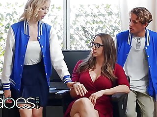 Step Mom Lessons - Tyler Nixon Chanel Preston Chloe Cherry