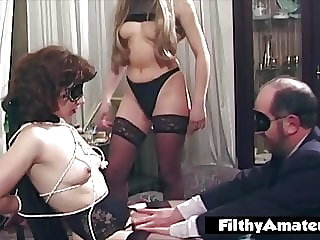 BDSM for the wife practiced by husband with the mistress