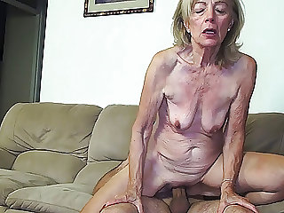 81 years old mom banged by stepson