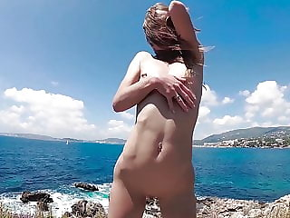 Compilation TRAVEL NUDE - Russian Slut Nudist Milf