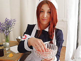 ROLEPLAY JOI (Fr + Eng. Subs) - The Daisy Nurse.