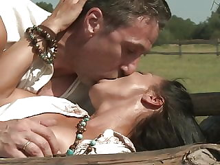 Hardcore anal sex outdoors