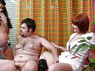 Sex therapy for a German amateur couple