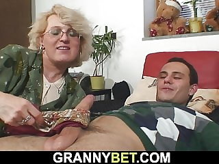 Granny games with lonely mature woman