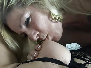 Busty lesbians making out and tasting each others wet cunts