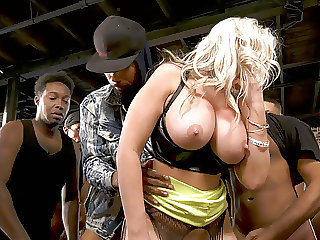 18 Creampie After BBC Gangbang - Alena Croft