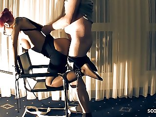 German Teen Mistress Hooker Pay for Rough BDSM Sex by Client