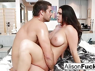 Amazing rough fuck with Alison Tyler and a hung spanish stud