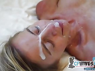 i watch my wife cheating and take a cumshot