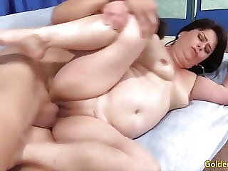 Golden Slut - Pounding Older Pussies Compilation Part 18