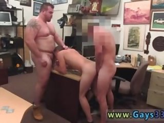 Naked hunks pissing gay Guy completes up with anal invasion fuck-fest