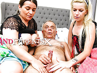 Old Perv Having Fun with the Help