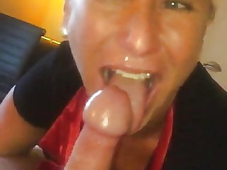 Just lick turns to deep throat