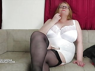 Sally lovers her girdles