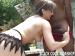 Does it turn you on watching me ride a big black cock?