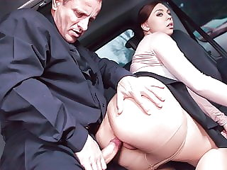 FUCKED IN TRAFFIC Ornella Morgan Gets Cum Inside From Daddy