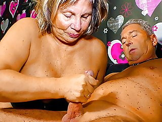 XXX OMAS - Naughty German Couple Has Some Fun On Sextape