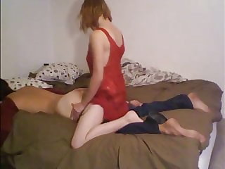 amateur homemade pegging