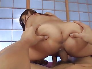 Hitomi Kitagawa sucks and rides whole dick in flawless POV