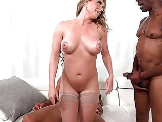 Kayley Gunner Wants Threesome Sex With Big Black Cocks