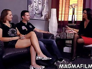 Amateur European couple fucking