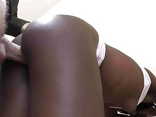 African housemaid creampied by BWC in doggystyle