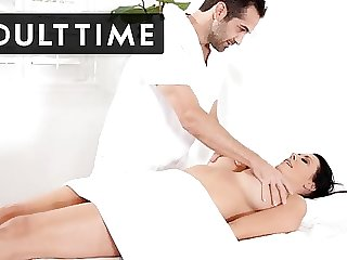 ADULT TIME - Reagan Foxx Likes Her Massages HARD!