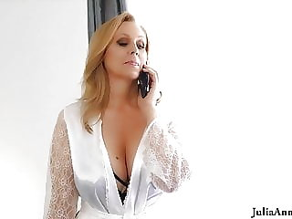 Busty Julia Ann Just Wants To Fuck A Cock! Is That So Hard?