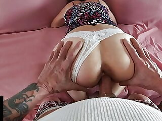 Sexy Mom Big Cock Doggystyle Creampie