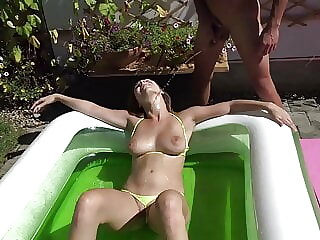Great weather, great cock and my tight wet pussy!