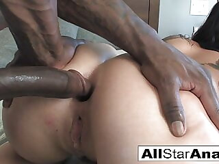 London Keyes takes some black dick on her ass