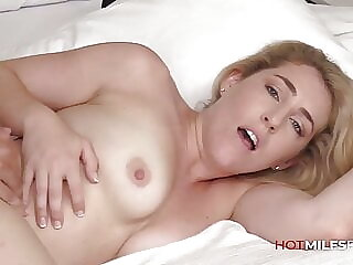 MILF Abbey James First Sex On Camera In Casting Video