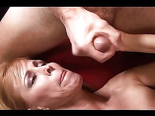 Cougar Nicole always likes to visit the neighbor son