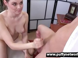 Brunette Babe Becky Berry Deepthroats And Gags On Cock