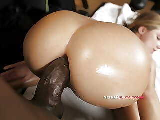 Hot Massage Goes Anal For BBC Fiend – Sofi Goldfinger's ASSHOLE