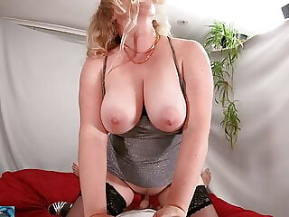 stepmom needs a hard cock after she gets stood up