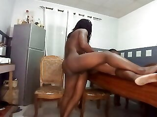fucking hot at the dinner table