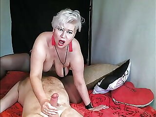 Hot Russian Married Couple: 69, Facesitting & Riding on cock