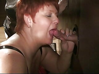 Annadevot - With my girlfriend at the Glory Hole