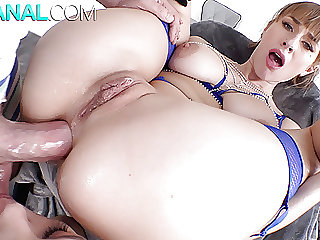 ALL ANAL ATM madness with Reyna Delacruz & Angel Youngs
