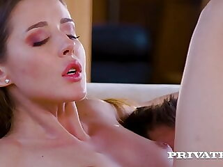 Private.com - Juicy Pussy Sybil Rides A Cock And Gets Cum!