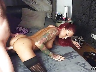 PRECUM FUCK FOR VIRGIN GUY WHO CUMS TOO QUICKLY WITH GERMAN TEEN