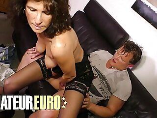 XXX OMAS - German Amateur Gets Fucked In Her Mature Pussy