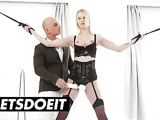 WHITE BOXXX - Tied Up Teen Ariela Dominated By Rich Lover
