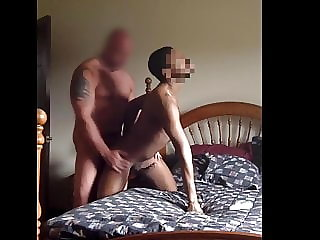 Married White Construction Worker Pounds Black Bitch