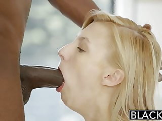 BLACKED Blonde Girlfriend Alexa Grace Cheats with BBC