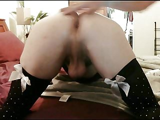 Sissy Em Taking Daddy's Cock